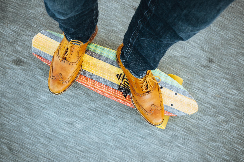 yellow shoes - season's hottest colour trend