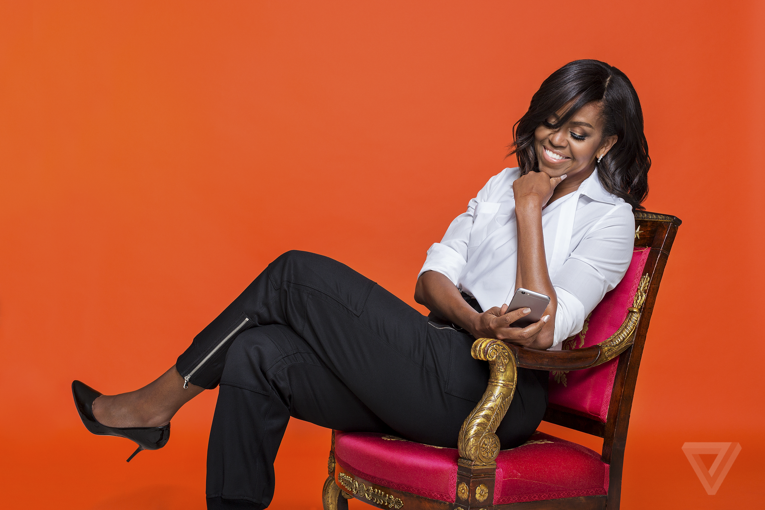 image of Michelle Obama - comfort-style